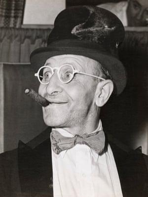 Monty Reed, Master of Ceremonies at Sammy's in 1944