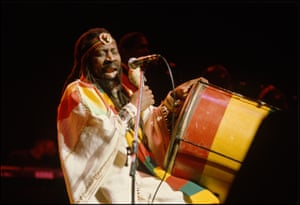 Bunny Wailer at the Beacon Theatre in New York in 1997