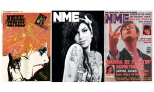 Front covers of the NME.