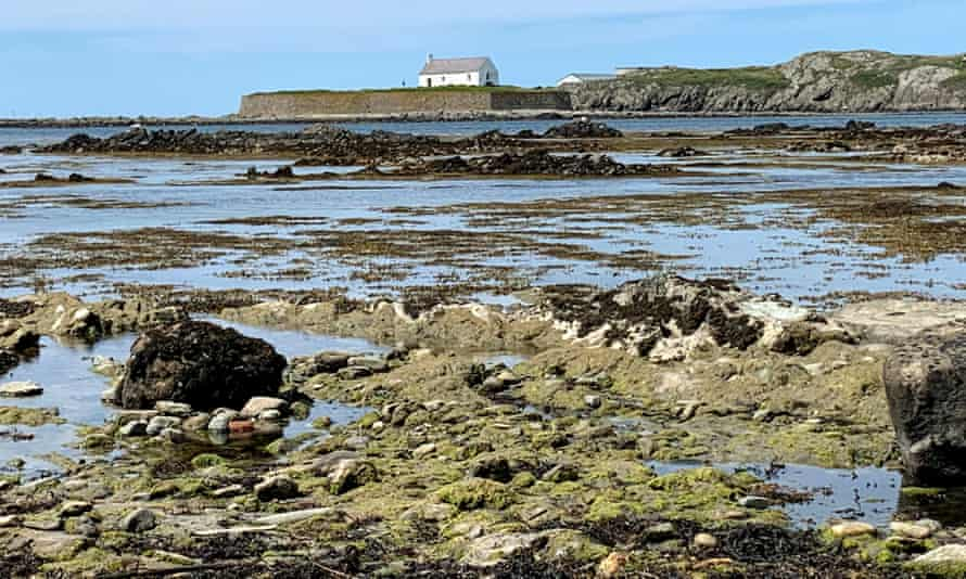 Porth Cwyfan, Aberffraw. 'I love the Celtic feel of this place.'