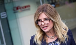 Lisa Bloom, who met Ofcom officials in London last week, said: 'This is a company that over and over again, when no one was watching them, made choices against women's rights.'