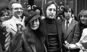 John Lennon and Yoko Ono, 1972