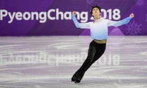 Yuzuru Hanyu was at his brilliant best on Friday