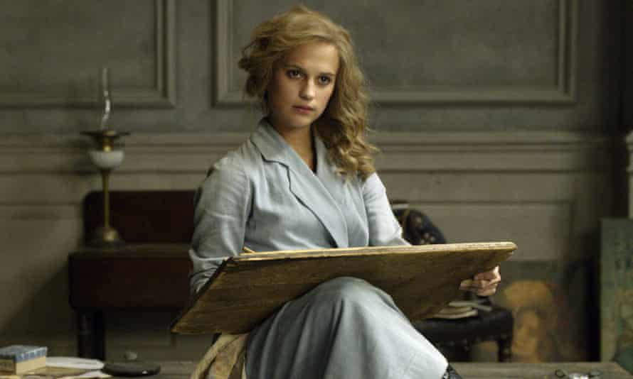 Alicia Vikander in Tom Hooper's drama The Danish Girl.