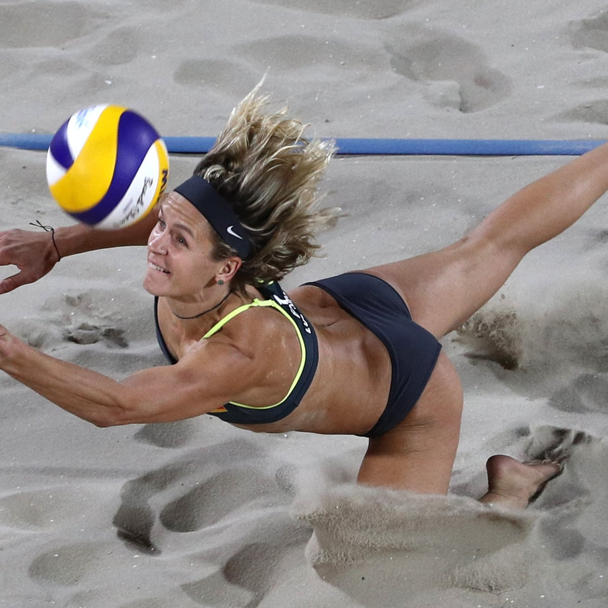 Basketball Is My First Love But The Athleticism Of Beach Volleyball Is Amazing Sport The Guardian