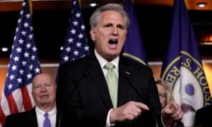 House Minority Leader Kevin McCarthy talks impeachment.