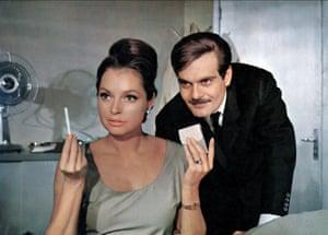Nadja Tiller & Omar Sharif and Nadja Tiller in The Poppy Is Also A Flower, 1966