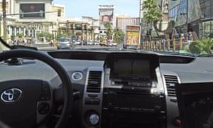 A driverless car in Nevada