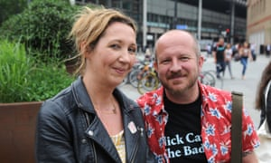 Julie, 47, nurse, and Gary, 47, project manager, from Newcastle