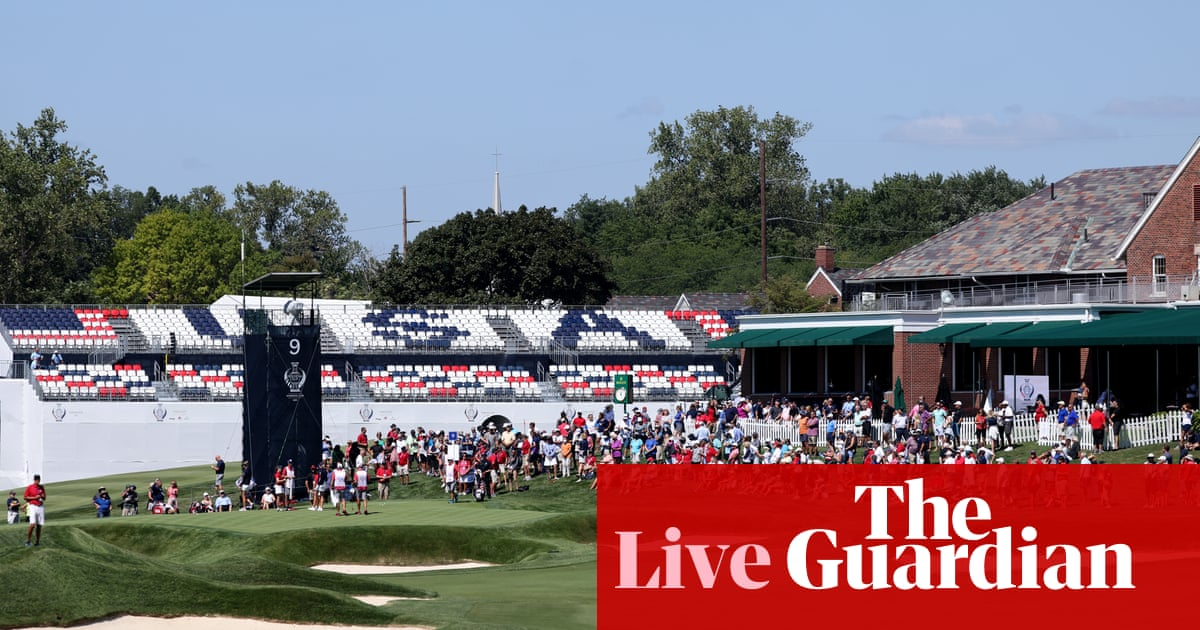 USA v Europe: Solheim Cup, day one – live!