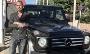 Giancarlo Bonati with his Mercedes Benz G300