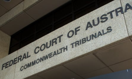 Front of Australia's federal court