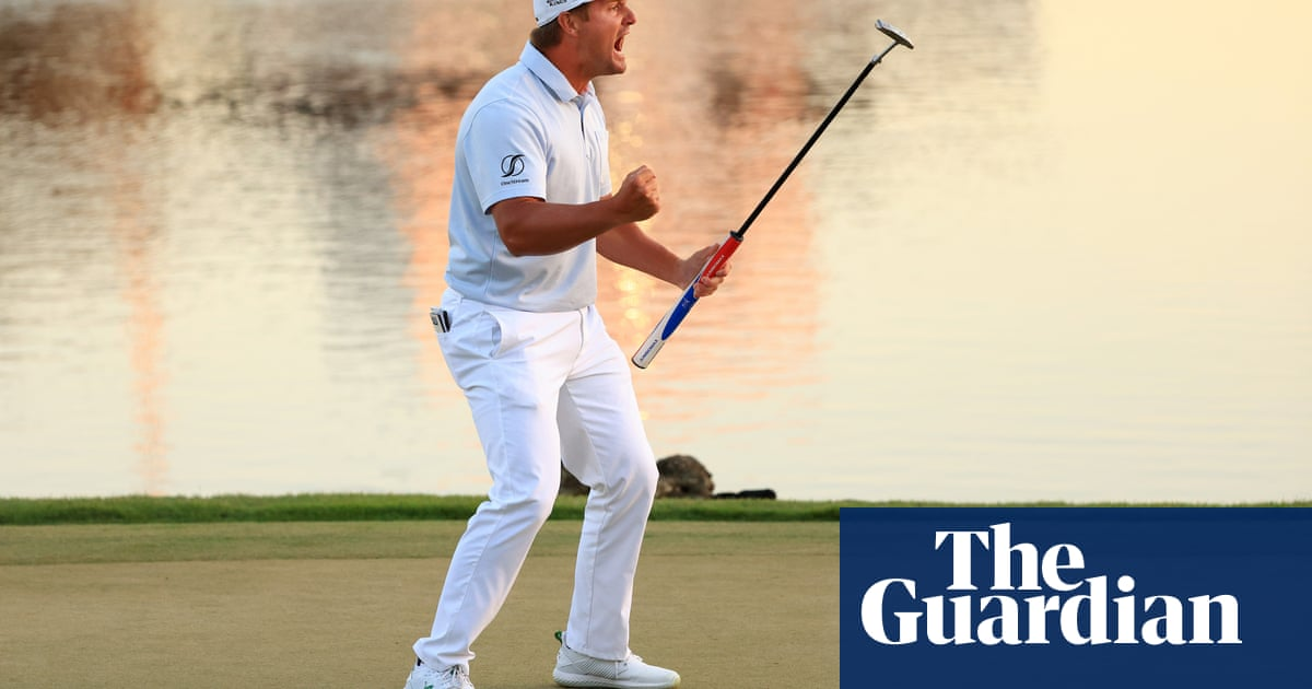 Bryson DeChambeau edges out Lee Westwood at Arnold Palmer Invitational - the guardian