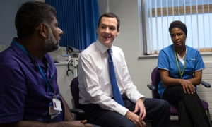 George Osborne visits Streatham high practice