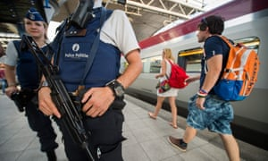 Reinforced security for the Thalys train service in Brussels.