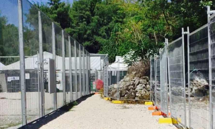 Australian-run detention centre on Nauru.