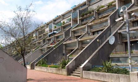 'It makes me smile every day' … Alexandra Road housing estate in Camden, London. Photograph: Alamy