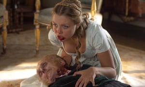 Jess Radomska in Pride and Prejudice and Zombies.