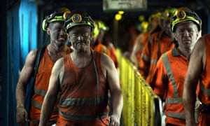 Miners at Kellingley colliery, North Yorkshire, on the day it closed, 18 December 2015: 'From ex-miners in Blyth Valley to migrant cleaners in Brixton, we have to unite our communities in all their diversity.'