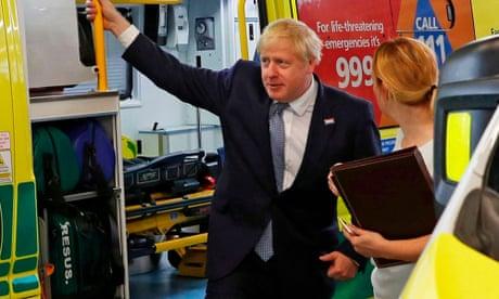 Boris Johnson pledges £250m for NHS artificial intelligence