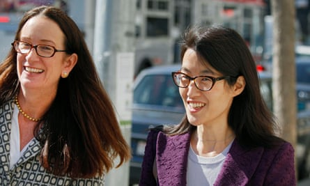 Therese Lawless with Ellen Pao