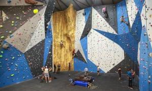 High Sports climbing centre, Brighton
