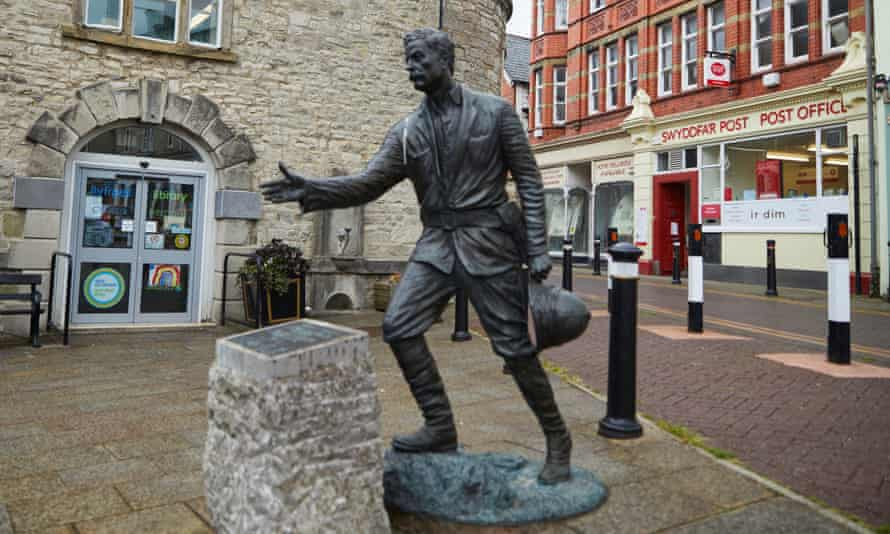 Statue in Denbigh, Wales, of Sir Henry Morton Stanley