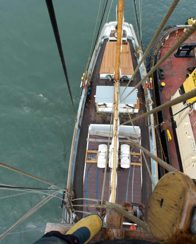 Bessie Ellen sailing trip