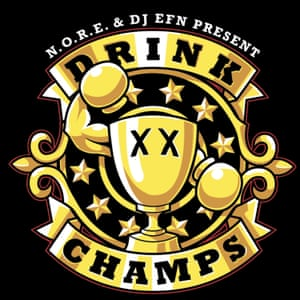 Drink Champs Podcast poster/logo image