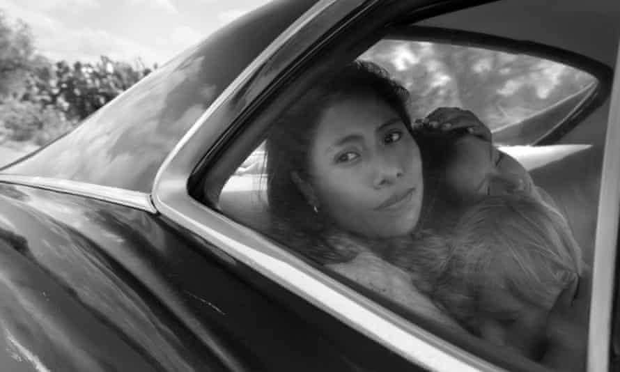 A scene from the Netflix film, Roma