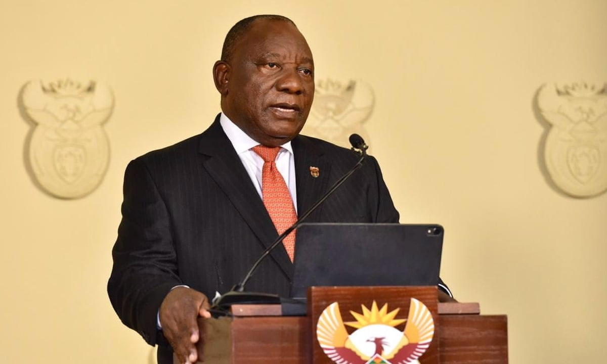 South Africa To Go Into 21 Day Lockdown On Thursday Night South Africa The Guardian