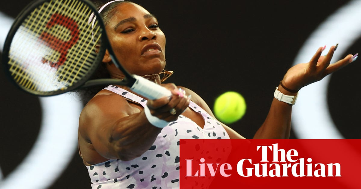 Australian Open: Serena Williams v Tamara Zidansek, Dimitrov out – live!