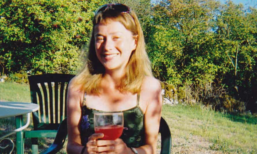 Colette McCulloch in France in 2006