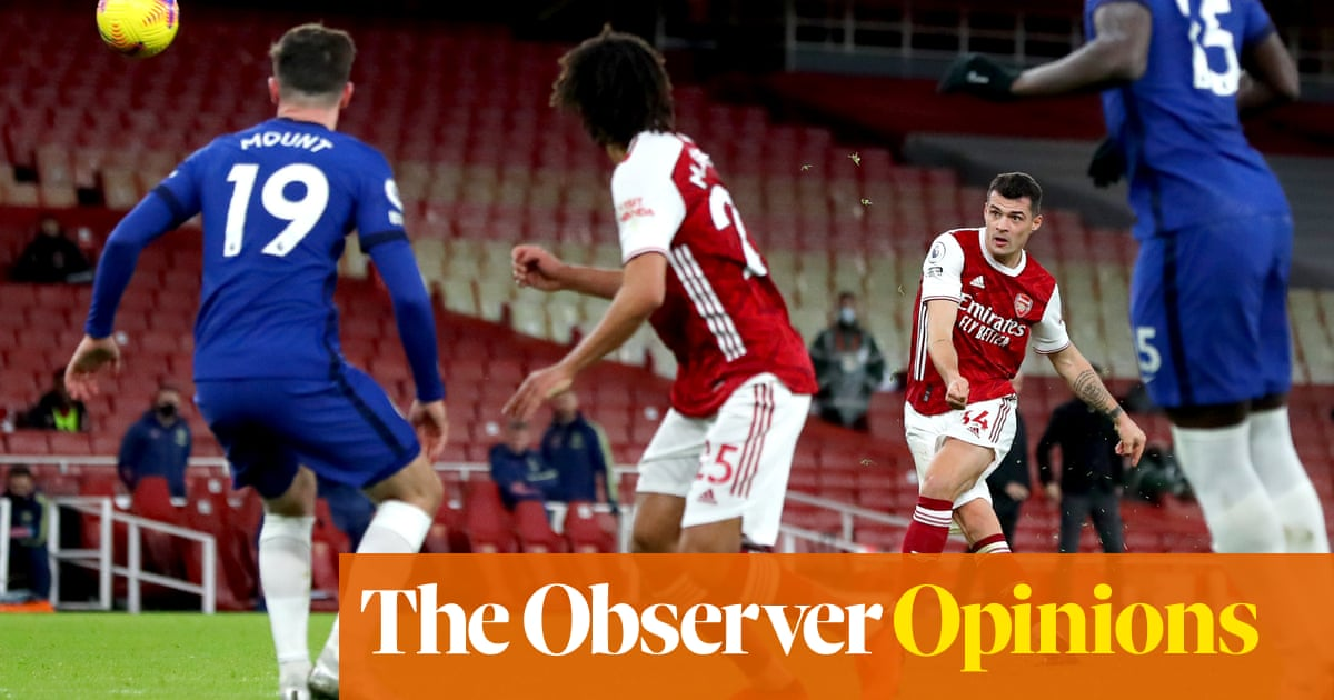 Granit Xhaka strikes a telling blow but it is the Age of Saka Arsenal must embrace   Barney Ronay