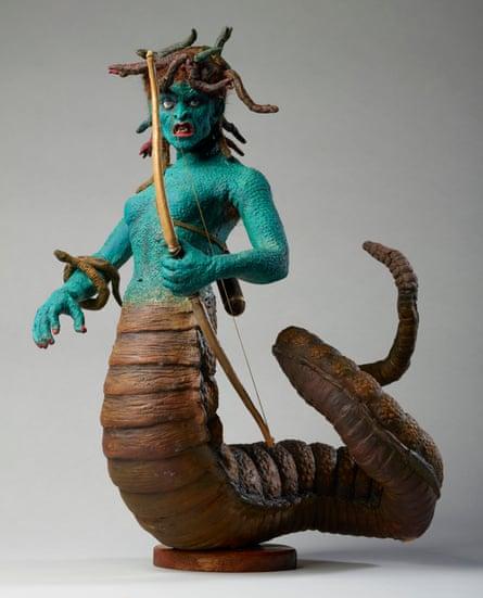Harryhausen's Medusa from Clash of the Titans, c.1979.