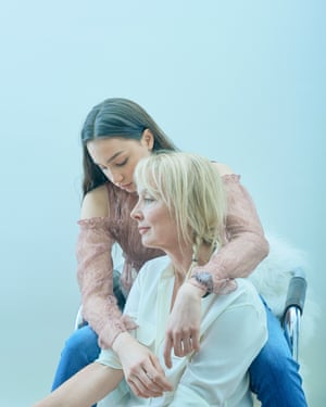 Photographer Heather Favell and her daughter Georgia Sow-Favell were photographed as part of a piece on mother and daughter fashion in the ObserverMagazine