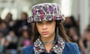 Chanel show at Paris Fashion Week.