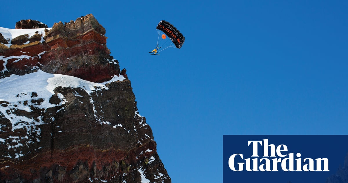 'A pure moment of being': inside the thrill and danger of skiing off cliffs