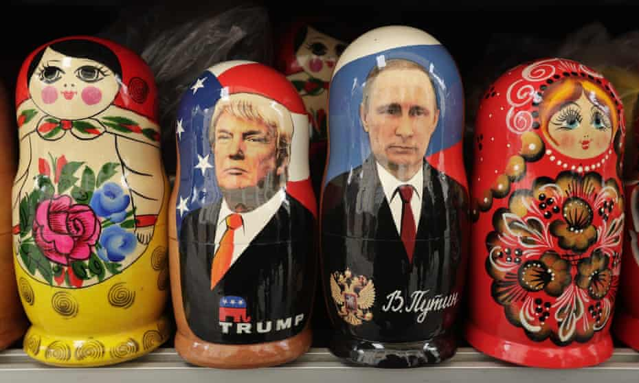'The outpouring of Putinalysis was a function of wanting to wish Trump away, to blame him on someone else. Surely we could not have elected this bigoted idiot-narcissist – surely he must have been forced on us from somewhere else.'