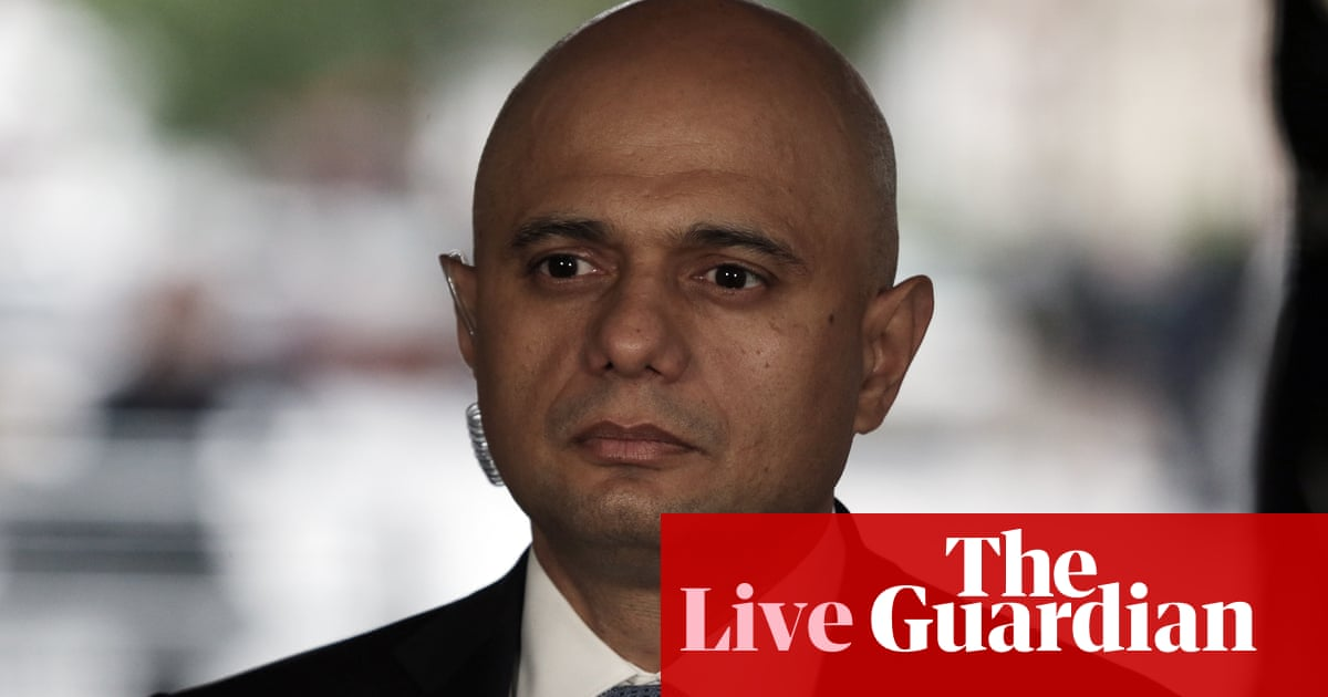 Covid live: UK health secretary apologises over 'cower' tweet; policing minister sorry over border delays