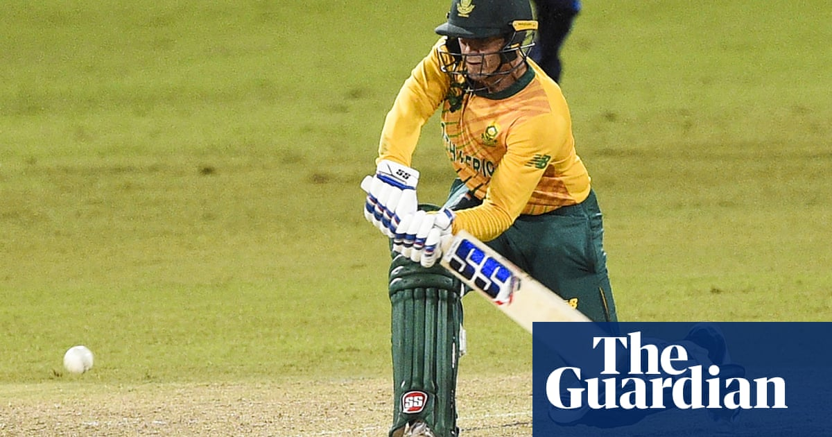 South Africa's Quinton de Kock apologises for refusing to take the knee