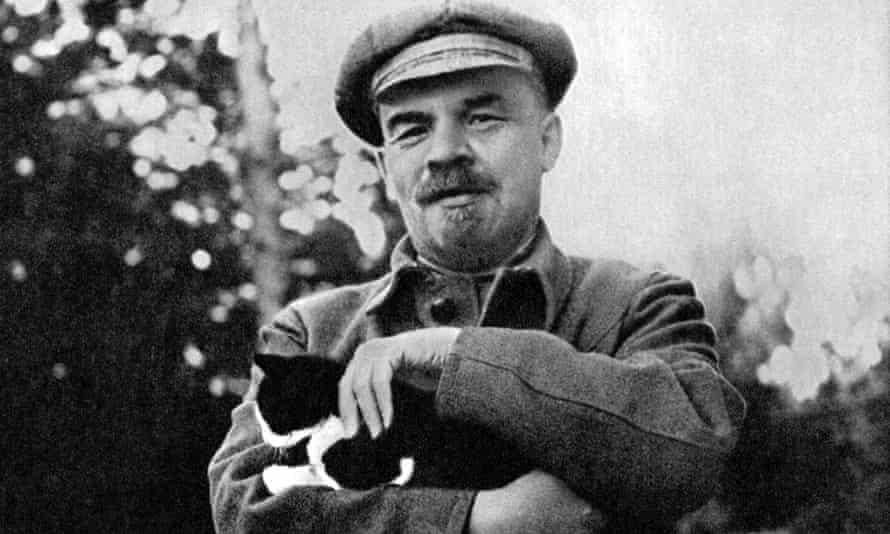 Vladimir Lenin in 1922. Photograph: Getty