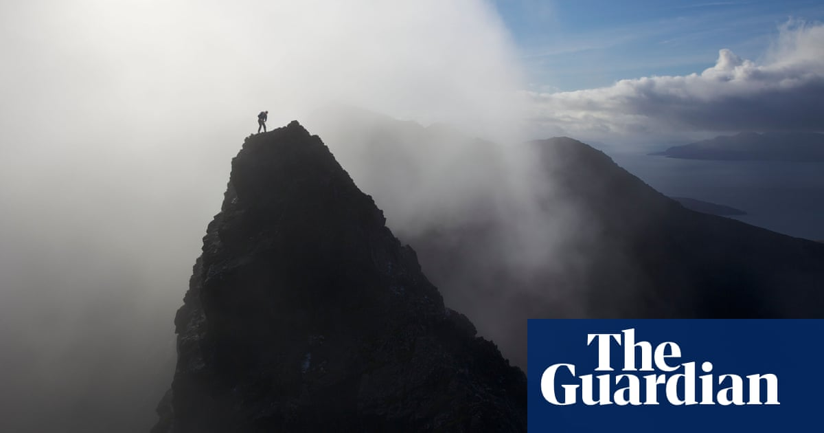 'I was sliding towards the drop and couldn't stop' – the writer who fell from a mountain