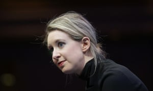 'A frightening cult of personality ' ... Elizabeth Holmes, founder and CEO of Theranos.