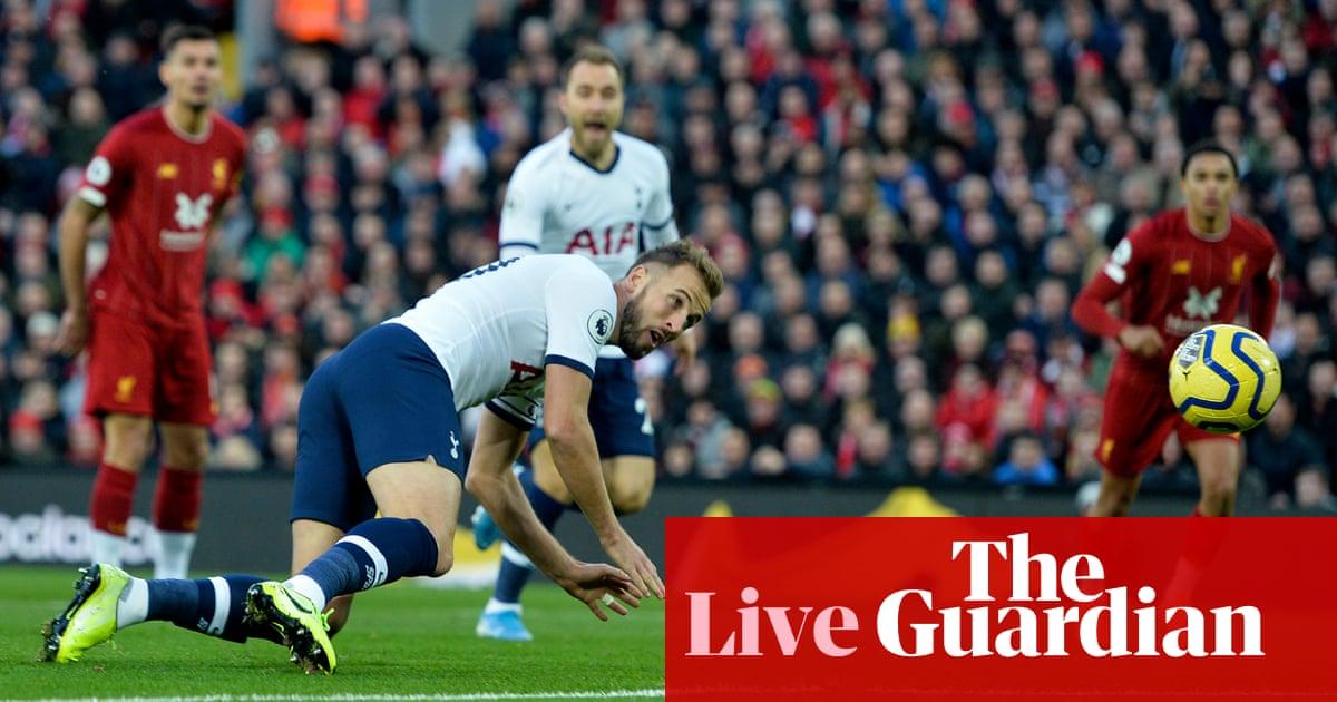 Liverpool v Tottenham Hotspur: Premier League - live!