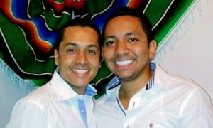 Luís Felipe Rodríguez and Ramiro Chávez, whose lawsuit in Colombia could open the way for gay marriage in the country.