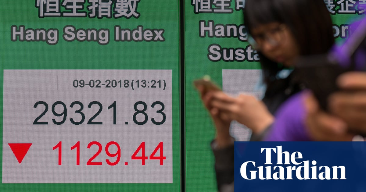 Stock Market Slide Gathers Pace With Big Sell Offs On Wall Street