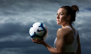 'Phil Neville says I'm the best player in the world': England defender Lucy Bronze. She plays for French club Olympique Lyon. She has won the PFA Women's Players' Player of the Year award twice – in 2014 and again in 2017.