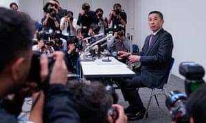 Nissan's chief executive, Hiroto Saikawa