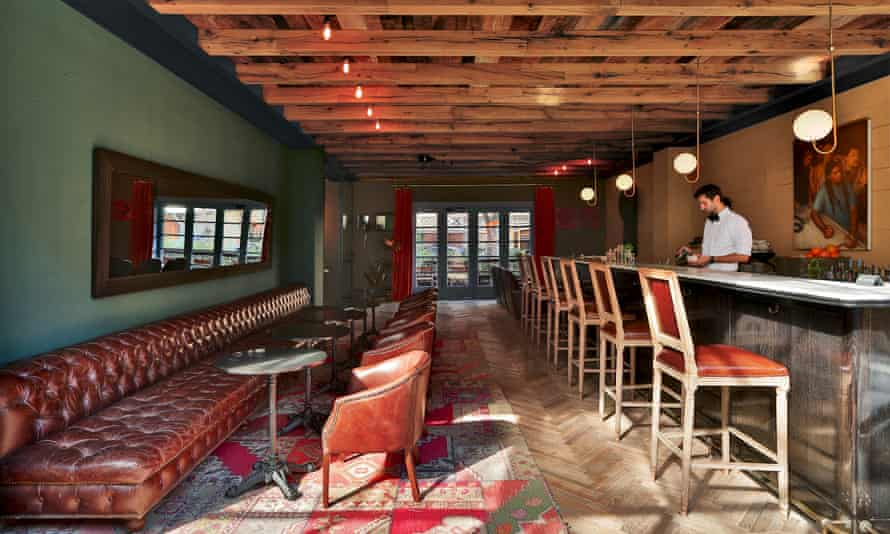 Bar area at Rooms Hotels, Tbilisi